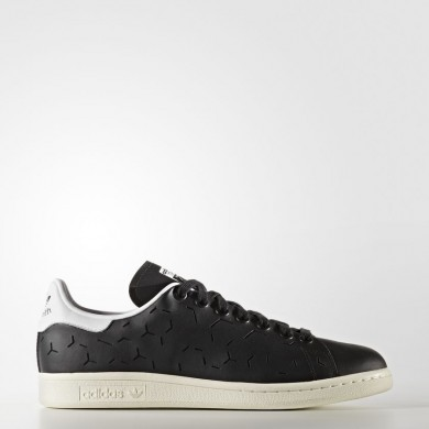 Adidas Originals Stan Smith Zapatos Mujer Core Negro / Calzado Blancas BZ0394