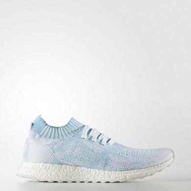 Running Adidas Ultraboost Parca Zapatos Ungaged Mujer / Hombre Icey Azul / Calzado Blancas / Icey Azul CP9686