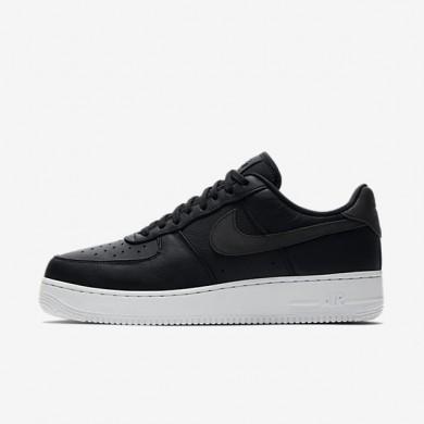 Zapatillas Nike Air Force 1 '07 Premium Hombre 905345-001 Negro / Blancas / Negro