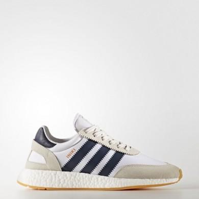 Adidas Originals Iniki Runner Zapatillas Hombre Mujer Calzado Blancas / Collegiate Azul marino / Gum BY9722
