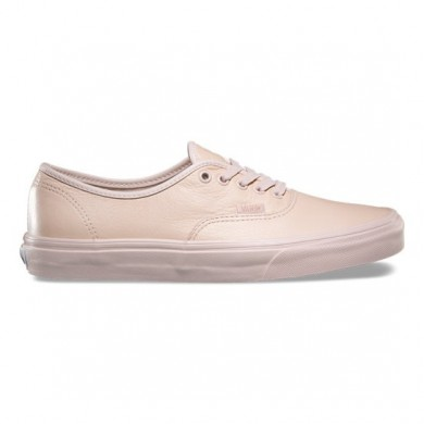 Vans Leather Authentic Zapatillas Hombre Mono / Sepia Rose